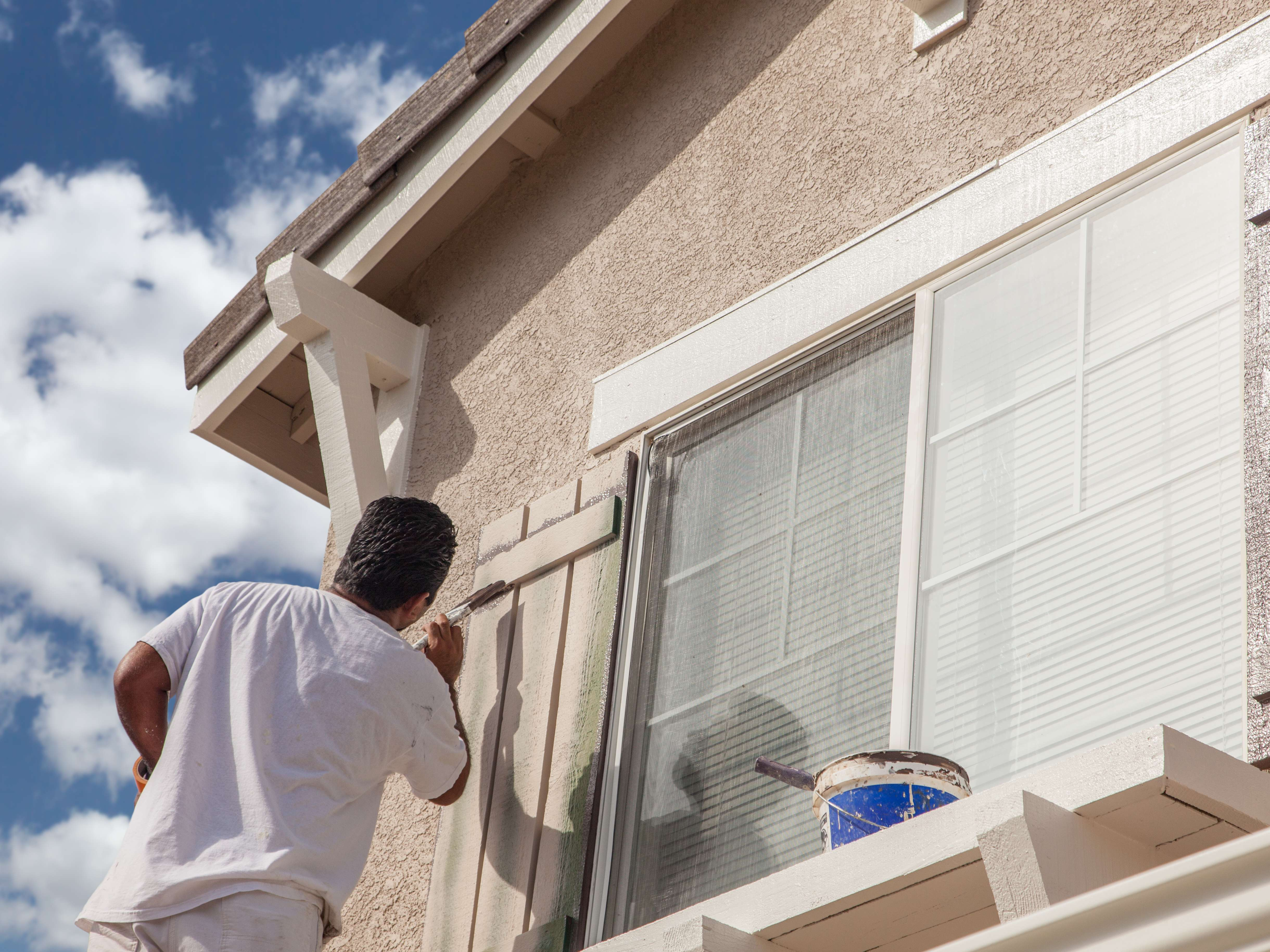 Our home painting services can give your entire home a face-lift.